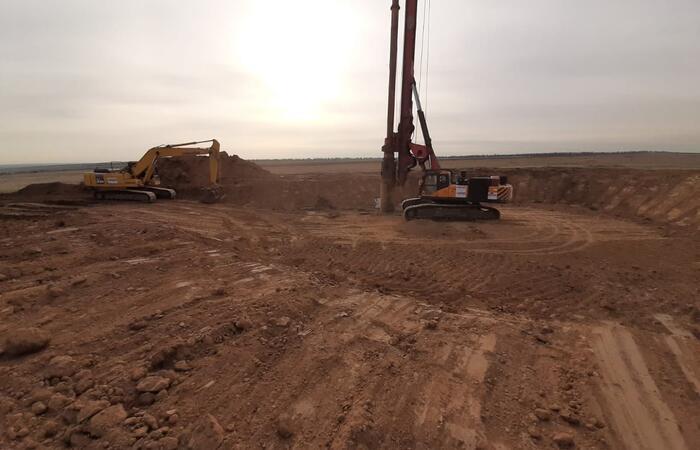Начало строительство ветропарка в Калмыкии